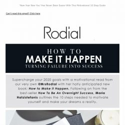 [RODIAL] New: How To Make it Happen by @MrsRodial 📚