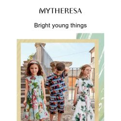 [mytheresa] Limited time free shipping + Power of three: Dolce & Gabbana Kids, Il Gufo and Chloé Kids