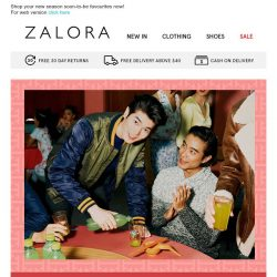 [Zalora] NEW IN and at extra 20% OFF! 😍
