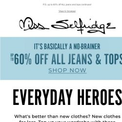[Miss Selfridge] You'll want to buy everything in this email