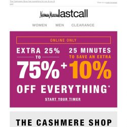 [Last Call] The Cashmere Shop top-selling looks (sale on top of sale) + extra 10% on top of BIG SAVINGS