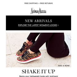 [Neiman Marcus] Live in sneakers this season