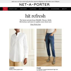 [NET-A-PORTER] You won't want to miss today's new arrivals