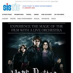 [SISTIC] Catch HARRY POTTER and the Goblet of Fire in CONCERT