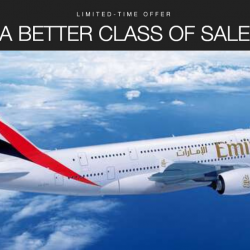 Emirates: A Better Class of Sale with Special Fares to Melbourne, Paris, Dubai, Athens & More Destinations from SGD579!