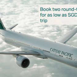 Cathay Pacific: Special Economy Bundle Fares from SGD218 to Taipei, Seoul, Tokyo, Beijing & More!