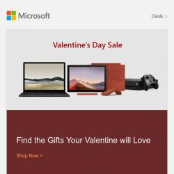 [Microsoft Store] Gifts Your Valentine Will Love | Shop Now