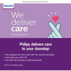 [PHILIPS] We deliver care