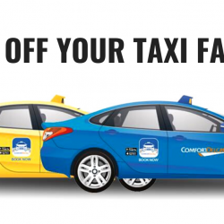 "ComfortDelGro: Get $2 OFF for ""Pay for Street Hail"" Rides with DBS/POSB Cards!"
