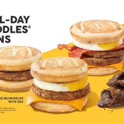 McDonald's: Return of McGriddles®️ & Chocolate Pie + Get Free McDelivery Treats!