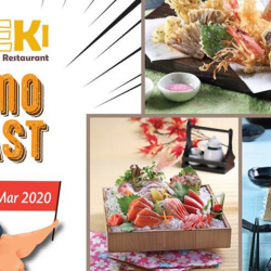 Kiseki Japanese Buffet Restaurant: All-You-Can-Eat Buffet from $40 Nett for 2 Pax Onwards!