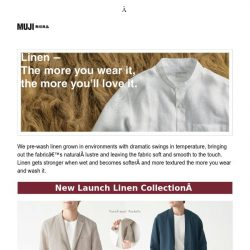 [Muji] MUJI | Linen Outfit Ideas for all Occasions!