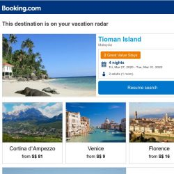 [Booking.com] Your next big trip is just a booking away