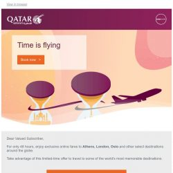 [Qatar] Exclusive online-only offers for a limited time.