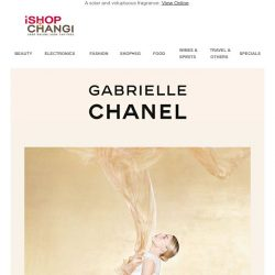 [iShopChangi] Reveal your essence with the new interpretation of GABRIELLE CHANEL.
