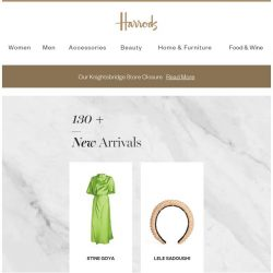 [Harrods] All new for you