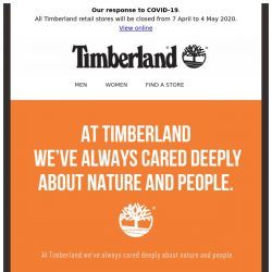 [Timberland] We believe in the power of community.