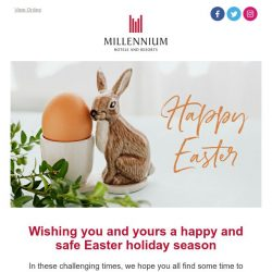[Hotels.com] May your Easter be filled with sweetness 🍫🐣🐰