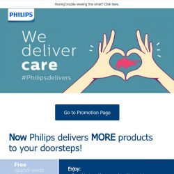 [PHILIPS] Make the most while you're at home with a little help from Philips