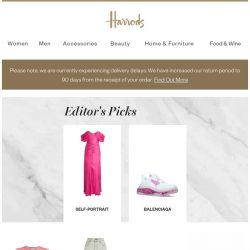 [Harrods] What's on your wish list?