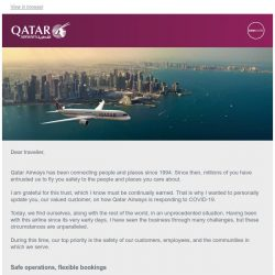 [Qatar] An update from our Group CEO.