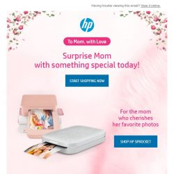 [HP Singapore] Surprise Mom With Something Special Today!
