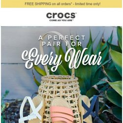 [Crocs Singapore] ☀️ Year-round summer style has arrived. Shop Tulum.