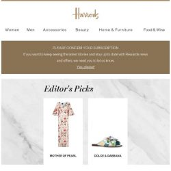 [Harrods] Editor's Picks: Zimmermann, Paco Rabanne and more