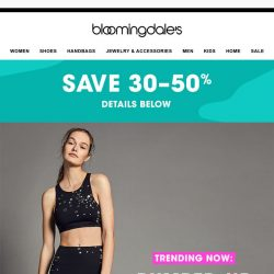 [Bloomingdales] Reenergize your workout with cool new active prints
