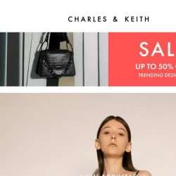 [Charles & Keith] Just In: Cylindrical Bucket Bags