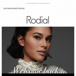 [RODIAL] Our Bestsellers Are Back ❤️