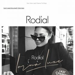 [RODIAL] The Rodial x Lorna Luxe Edit