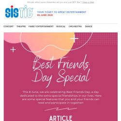 [SISTIC] A light-hearted quiz to celebrate Best Friends Day!