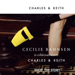 [Charles & Keith] Limited Edition: Cecilie Bahnsen X CHARLES & KEITH