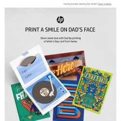 [HP Singapore] Show Dad that you care with a Card this Father's Day! – HP Print, Play & Learn