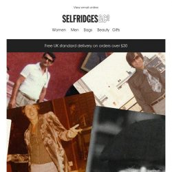 [Selfridges & Co] The Dad Style Awards