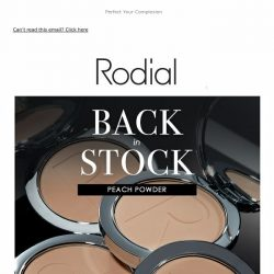 [RODIAL] Back In Stock | Peach Powder  🍑