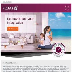 [Qatar] Let travel lead your imagination