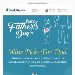 [Cold Storage] Grab Wine Picks For Dad This Father's Day! 🍷
