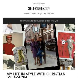 [Selfridges & Co] My Life in Style with Christian Louboutin