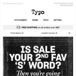 [typo] Sale from $2!