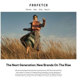 [Farfetch] New brands on the rise