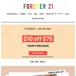 [FOREVER 21] whatchu wearin' this weekend?