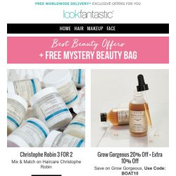 [lookfantastic] BEST OFFERS FOR YOU
