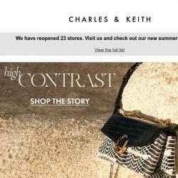 [Charles & Keith] High Contrast