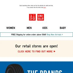 [UNIQLO Singapore] NEW Drop: The Brands UT for everyone