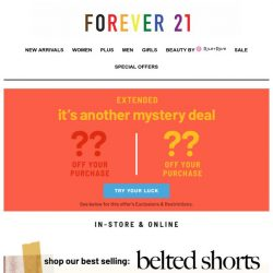 [FOREVER 21] 🤪 Sest Bellers... so good we're scrambled up!