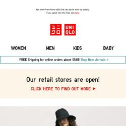 [UNIQLO Singapore] Fashion is the NEW normal