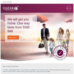 [Qatar] We will get you home