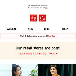 [UNIQLO Singapore] Limited Offers Start Today!
